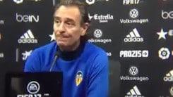 Valencia, Prandelli striglia i giocatori: «Fuori chi non lotta»