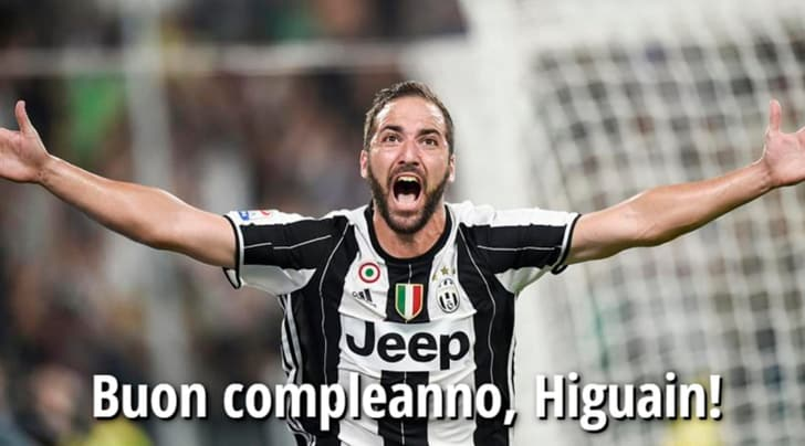 Juventus, cin cin Higuain: un compleanno da derby   Tuttosport