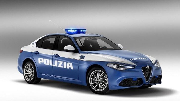 Alfa Romeo Giulia Veloce, la Polizia riceve due esemplari