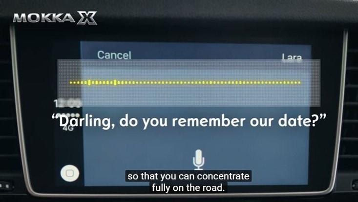 Apple CarPlay, ecco come funziona sulla Mokka X