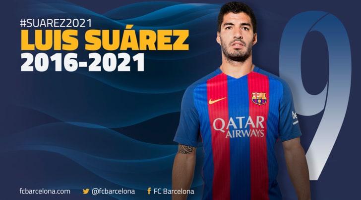 Barcellona-Suarez fino al 2021: clausola da 200 milioni!