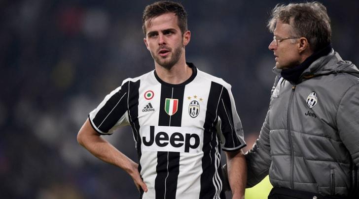 Juventus, botta per Pjanic: lunedì altri controlli