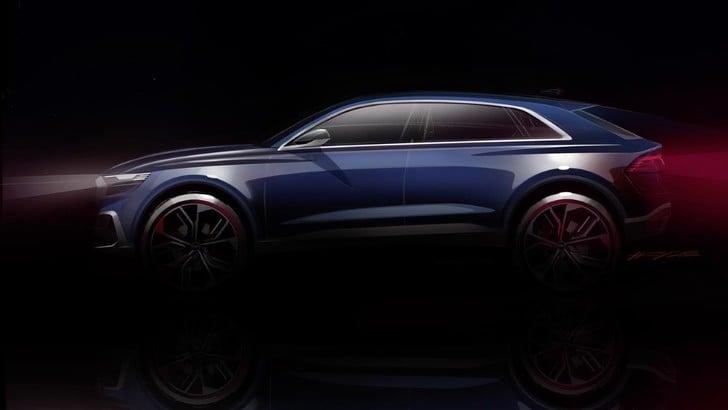 Salone di Detroit, Audi presenta il concept per un SUV-coupè