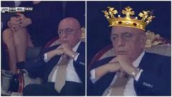 Supercoppa Italiana, Galliani sul trono: scatta l'ironia sui social
