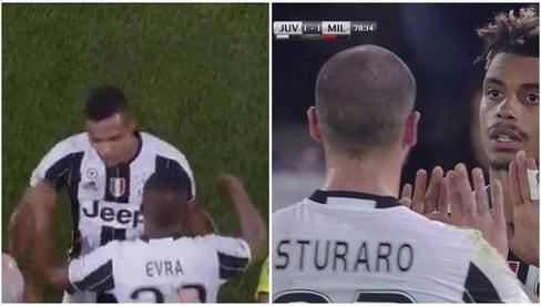 Juve-Milan, Alex Sandro e Sturaro ko: entrano Evra e Lemina