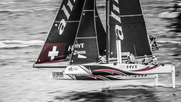 Vela, Alinghi dall'America's cup all'Extreme series Gc32