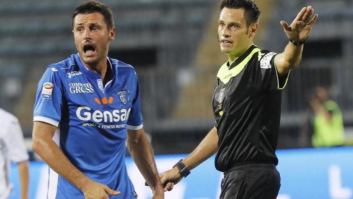 Serie A Empoli, recuperato Pasqual. C'è per il Palermo