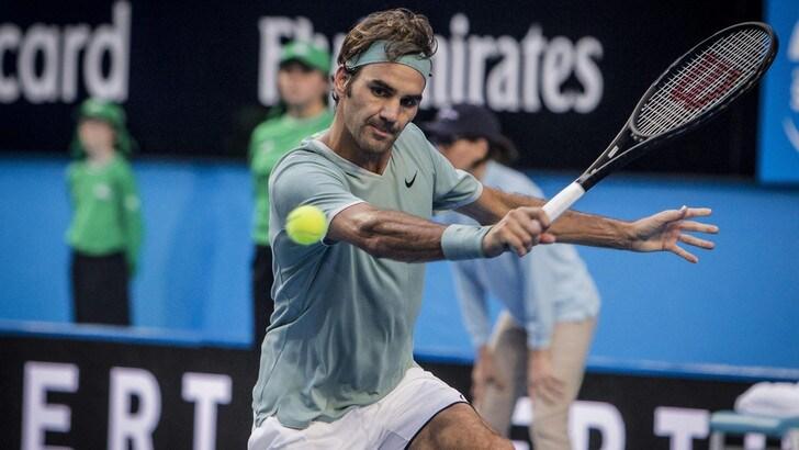 Tennis, Federer torna in campo: in quota caccia a un altro Slam