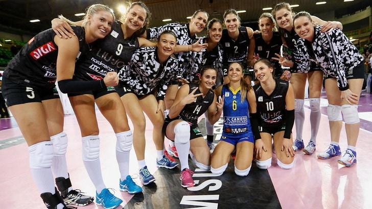 Modena che impresa. 3-0 alla Pomì campione d'inverno