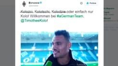 Il German Team scherza sul suo nuovo acquisto