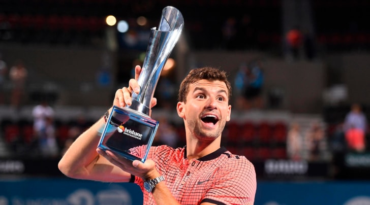 Tennis: Dimitrov vince il torneo di Brisbane
