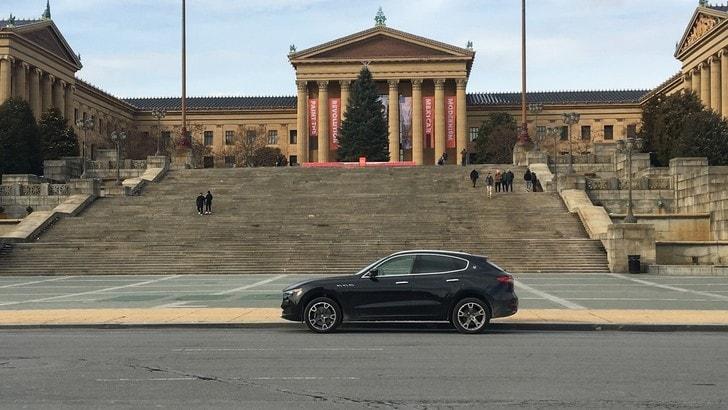 Con la Maserati Levante alla conquista dell'America