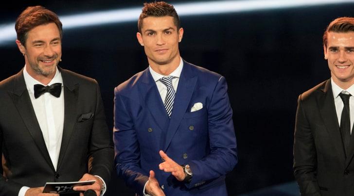 FIFA «The Best», Ronaldo batte Messi. Ranieri miglior allenatore