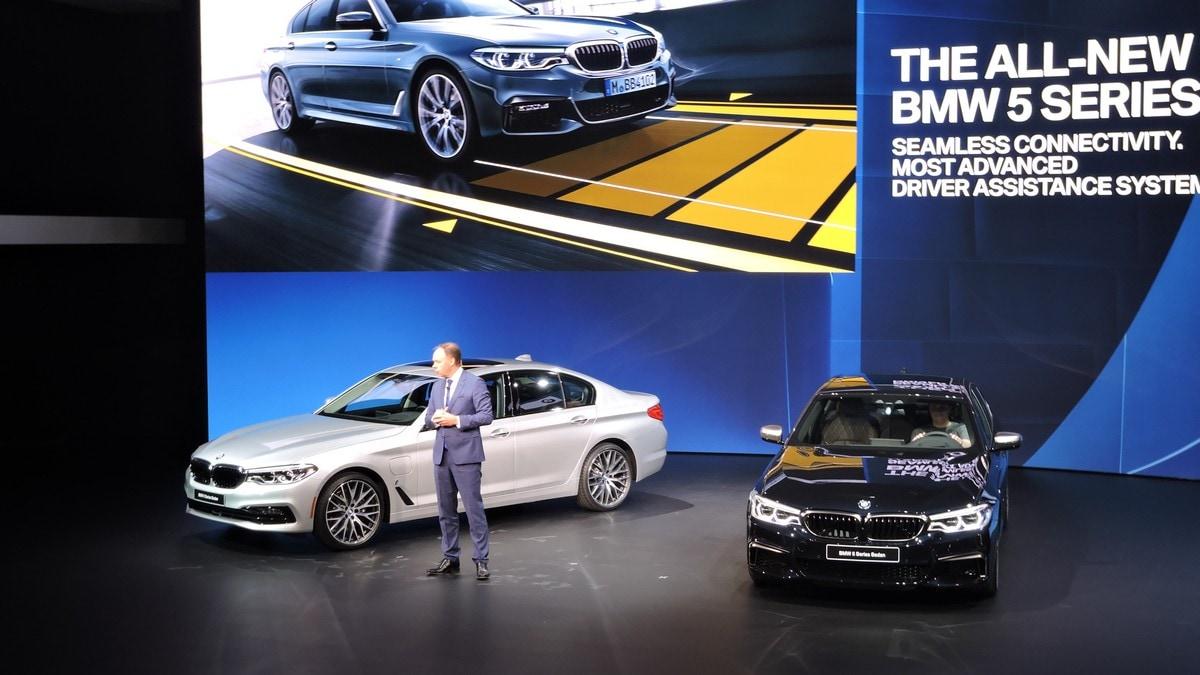 Detroit live, BMW Serie 5, il futuro è arrivato