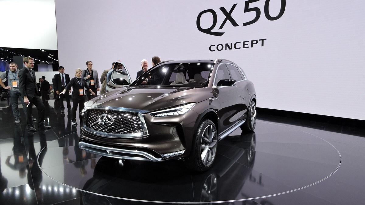 Detroit live, Infiniti presenta il SUV QX50 Concept