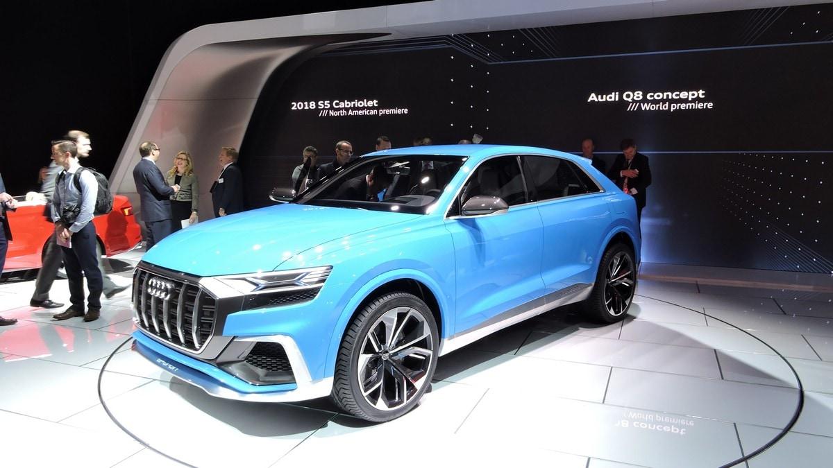 Audi Q8 Concept, il maxi Suv coupé per il 2018