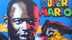 Balotelli idolo di Nizza: un murales per SuperMario