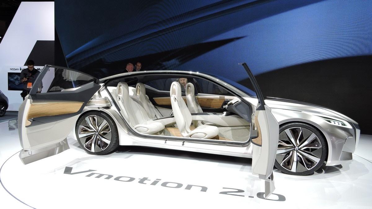 Nissan Vmotion 2.0 Concept al Salone di Detroit