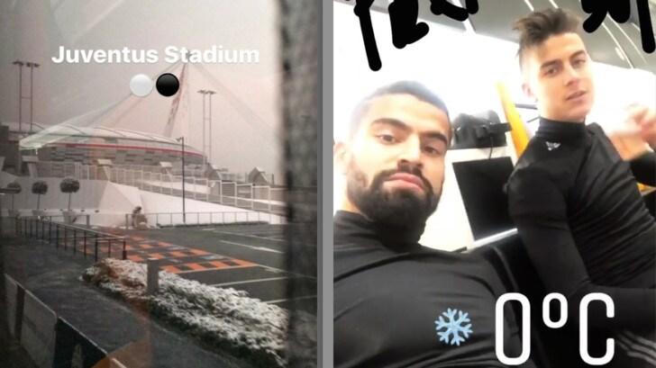 Juventus, Rincon prepara un debutto da brividi. Stadium... ghiacciato
