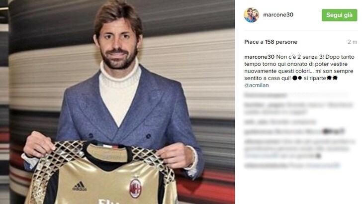 Saluto social per Storari: «Al Milan è come tornare a casa»