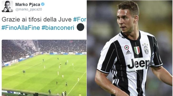 Marko Pjaca: «Grazie ai tifosi della Juventus»