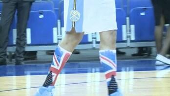 Union Jack ai calzettoni, Gallinari si fa British