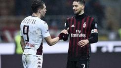 Serie A, Torino a 2,40 col Milan