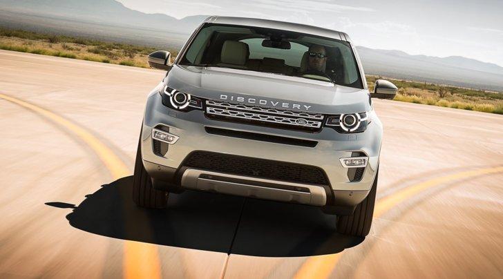 Land Rover Discovery Sport: la prova su strada