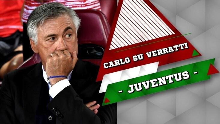Juventus, Ancelotti chiama Verratti al Bayern