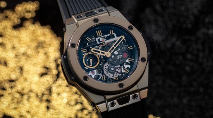 Big Bang Meca-10 Magic Gold di Hublot. The Art of Fusion