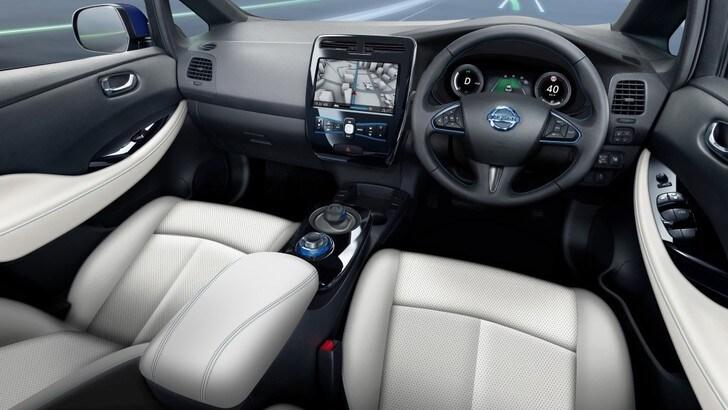 Nissan, in Gran Bretagna iniziano i test per la guida autonoma