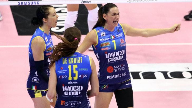 Imoco Conegliano sfida Firenze Domenica Volley Day