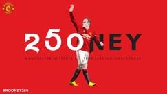Rooney, gol numero 250 con il Manchester United