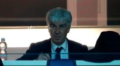 Spettatore speciale: Gasperini segue dalla tribuna