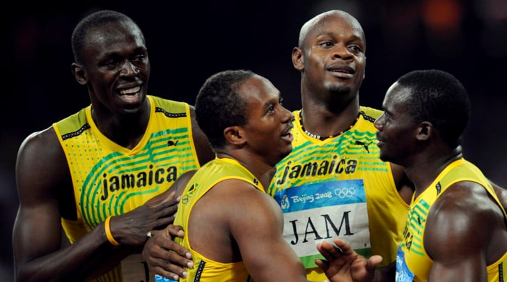 Doping Pechino 2008, Giamaica squalificata: Bolt perde oro