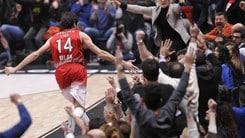Basket Eurolega: Milano da urlo, Olympiacos ko