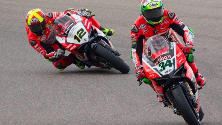 Sbk, Fores: «Sono felice di essere risalito in sella alla mia moto»