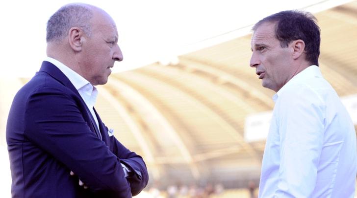Calciomercato Juventus, Marotta: «Allegri? Nessun problema. Kolasinac non arriverà»