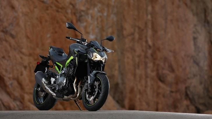 """Kawasaki Z900, la """"verdona"""" va all'attacco"""
