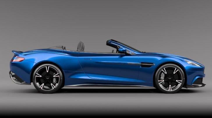 Aston Martin Vansquish S Volante, la nuova cabrio al top