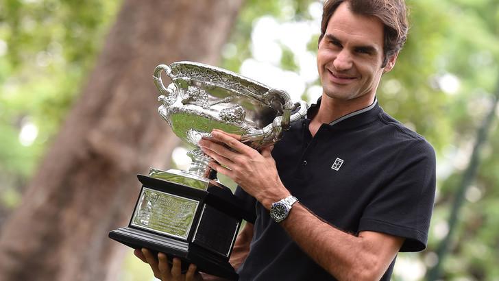 Tennis, Federer riparte: il trionfo a Wimbledon vale 9,00