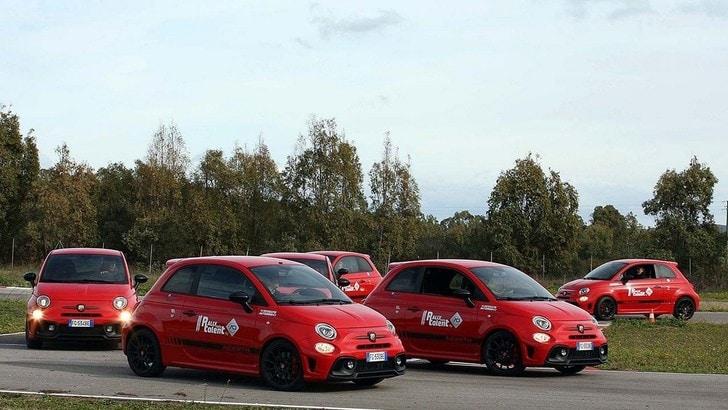 Rally Italia Talent e Abarth, le selezioni con la 595 Competizione