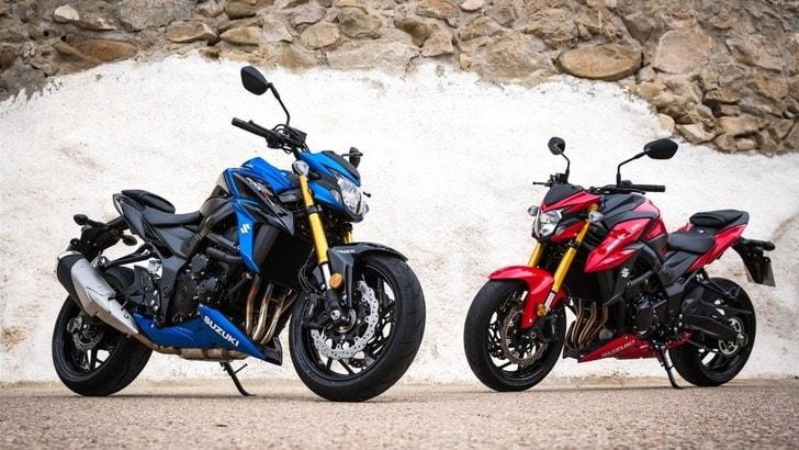 Suzuki, ecco la V-Strom 650 e la GSX-S750