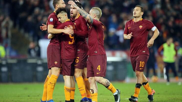 Coppa Italia Roma-Cesena 2-1, il tabellino