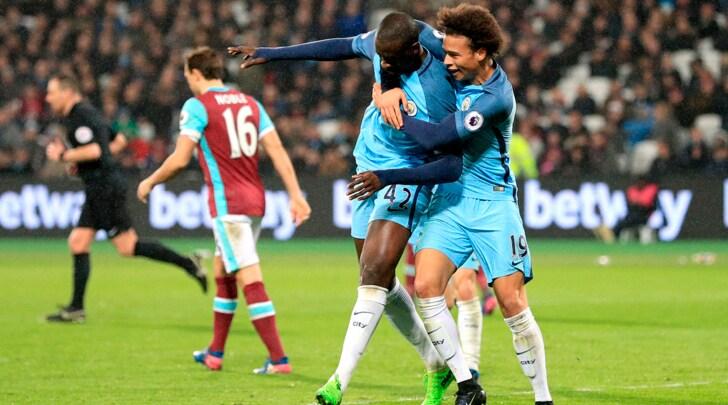 Premier League: poker City, solo un pari per lo United