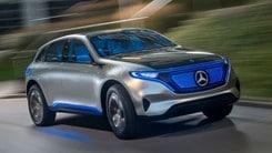 Mercedes, la gamma elettrica prossima alla produzione