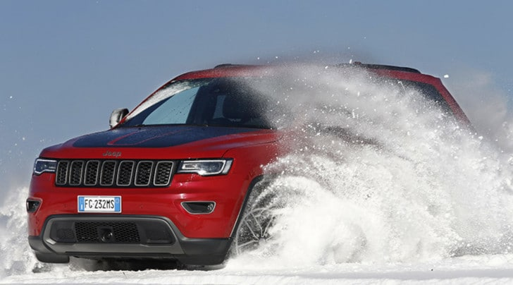 Jeep Grand Cherokee, ebbrezza no limits