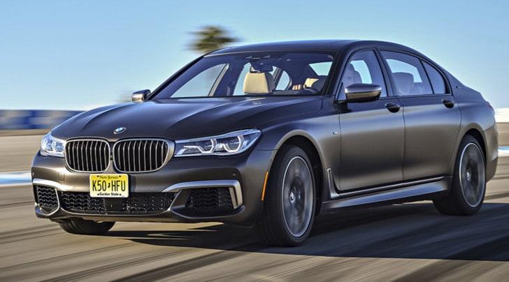 BMW M760Li xDrive, ammiraglia da corsa