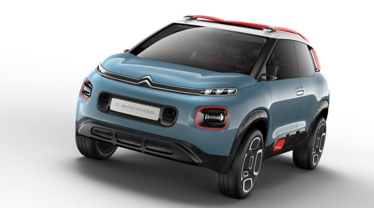 citroen c aircross la monovolume evolve in suv tuttosport. Black Bedroom Furniture Sets. Home Design Ideas