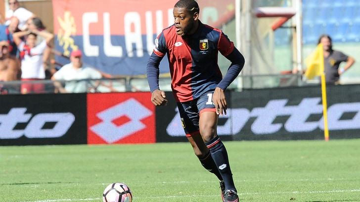 Serie A Genoa, Ntcham out: edema al bicipite femorale